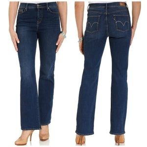 Levi's Perfectly Slimming Boot Cut 512 Jeans 4 S/C
